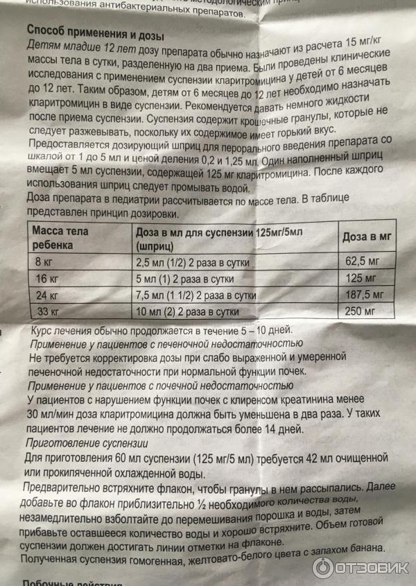 Твои-отзывы.ru - «оспамокс» (125): цена, инструкция по применению, отзыв врача и аналоги