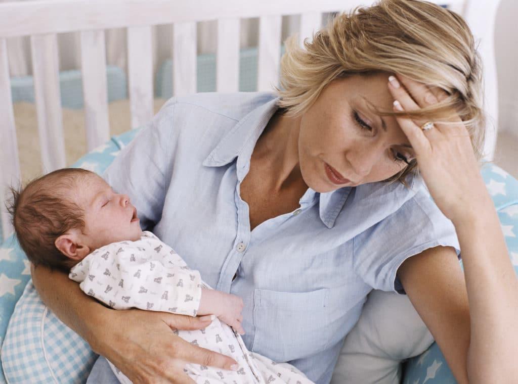 Что делать, если у кормящей матери поднялась температура?