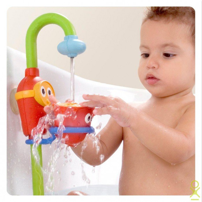 «игры в ванной». развивающая игра для детей 1 года