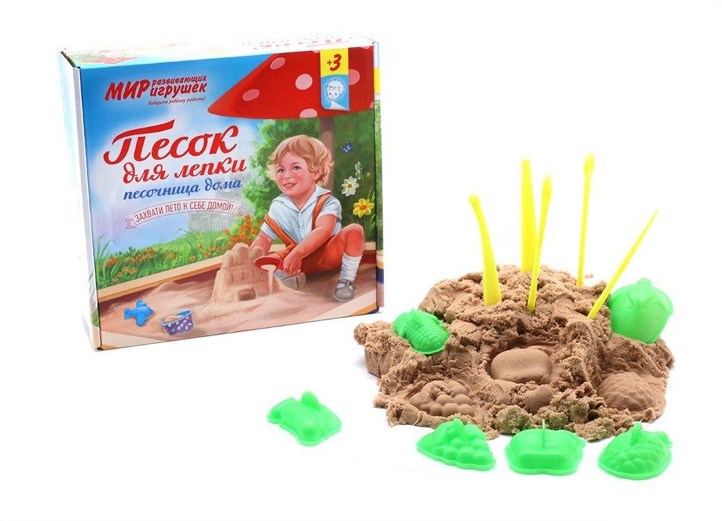 Топ-10 лучших наборов кинетического песка