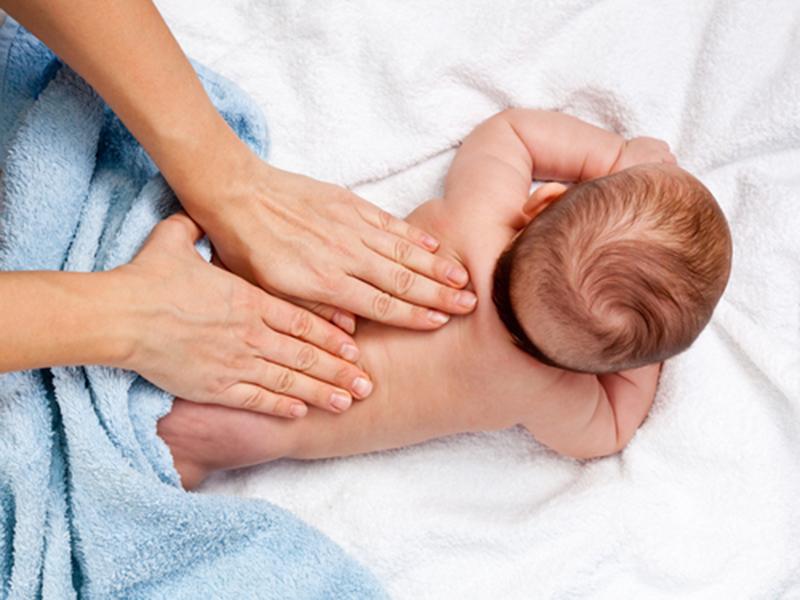 Приёмы массажа детей до 1 года