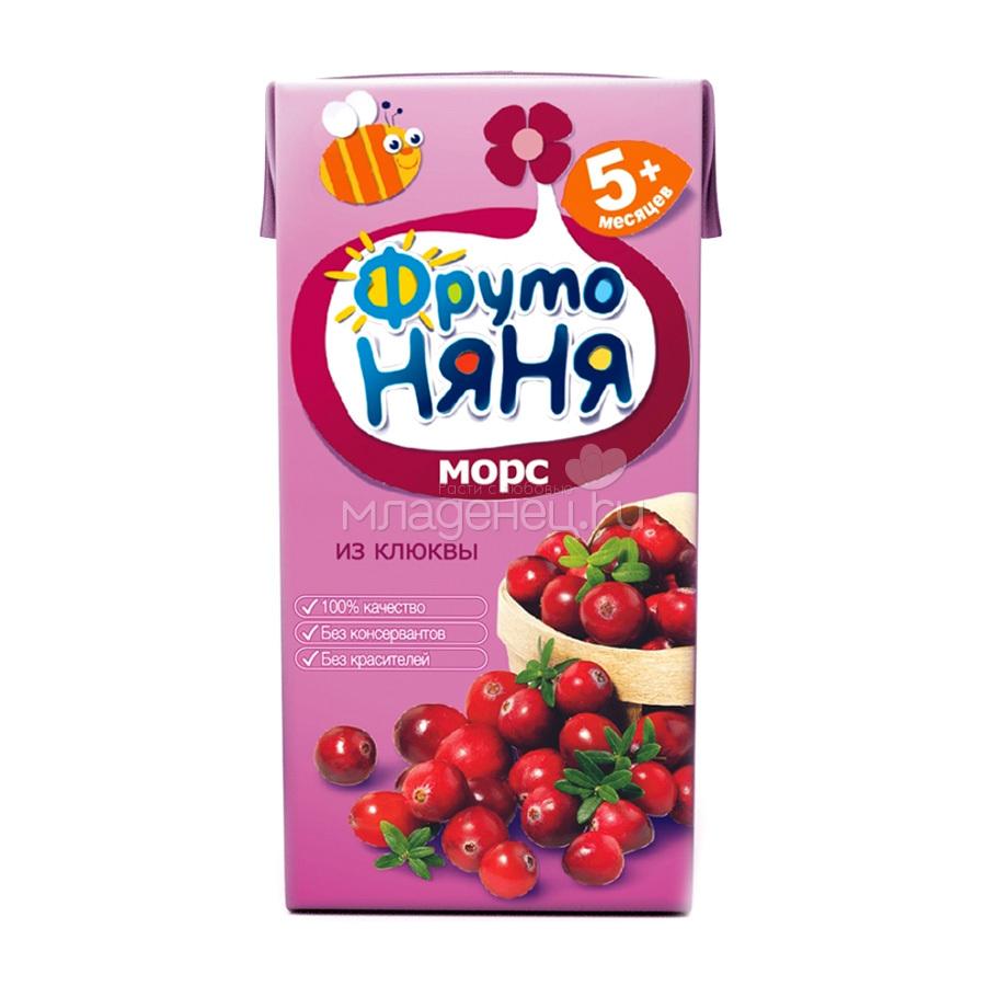 Клюквенный морс на поварёнок.ру