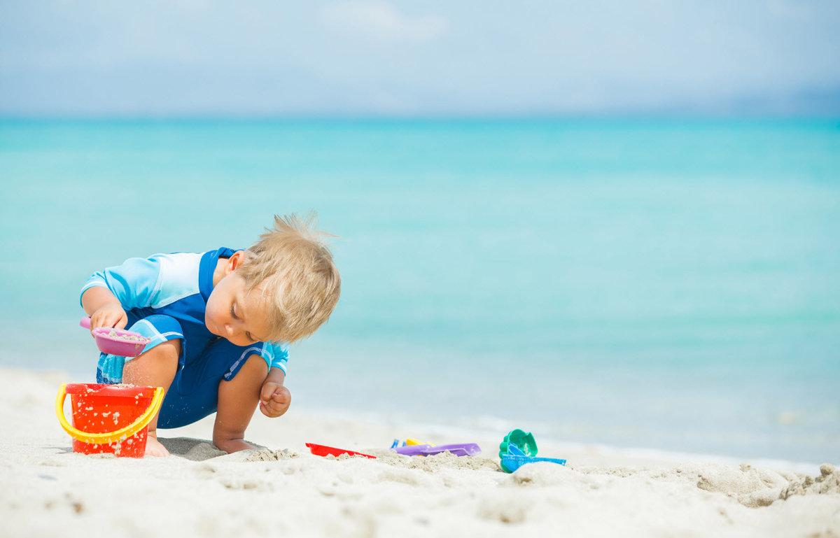 Список вещей на море с ребёнком
