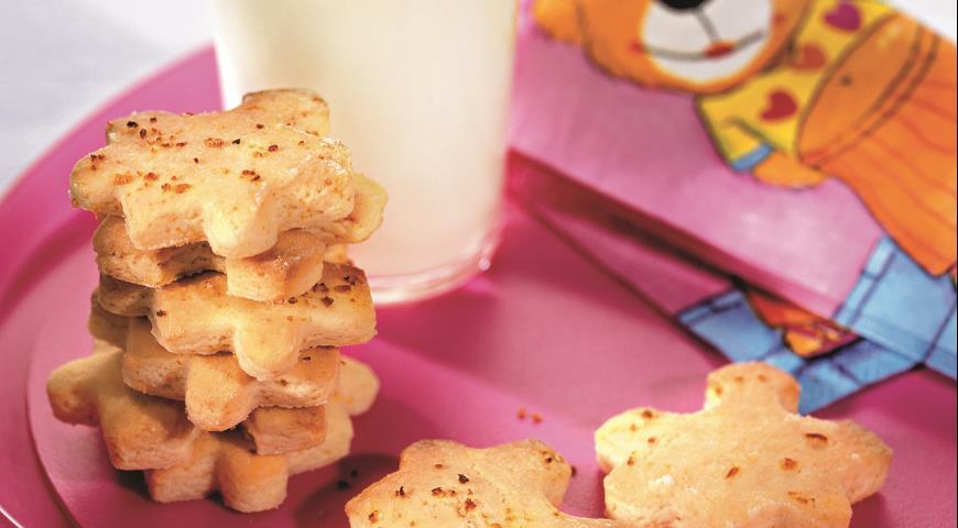 Детское овсяное печенье с бананом детям до 1 года