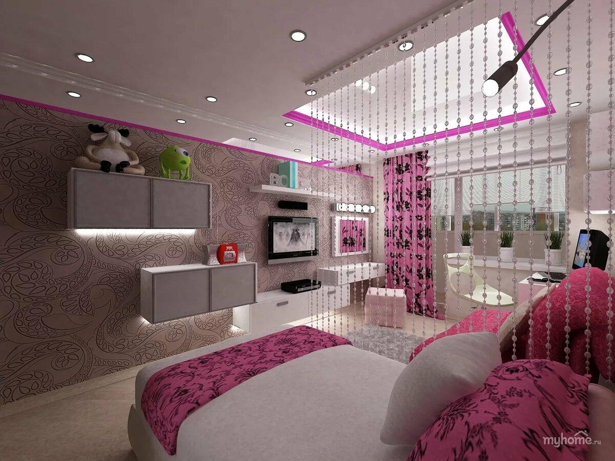 Оформляем дизайн детской комнаты для девочки 10-12 лет