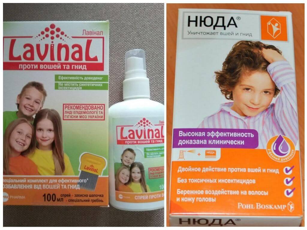 Средство от вшей и гнид для детей — лучшее за 1 день, народное, в аптеке