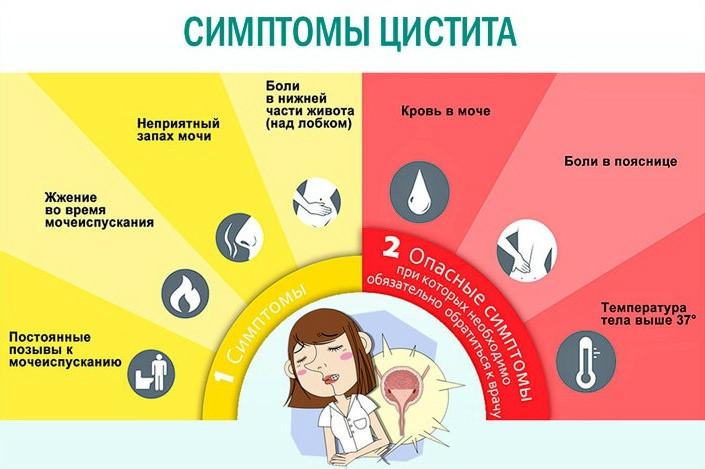 Цистит после родов: симптомы и методы лечения