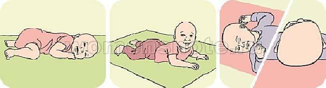 Зачем выкладывать новорождённого на живот?