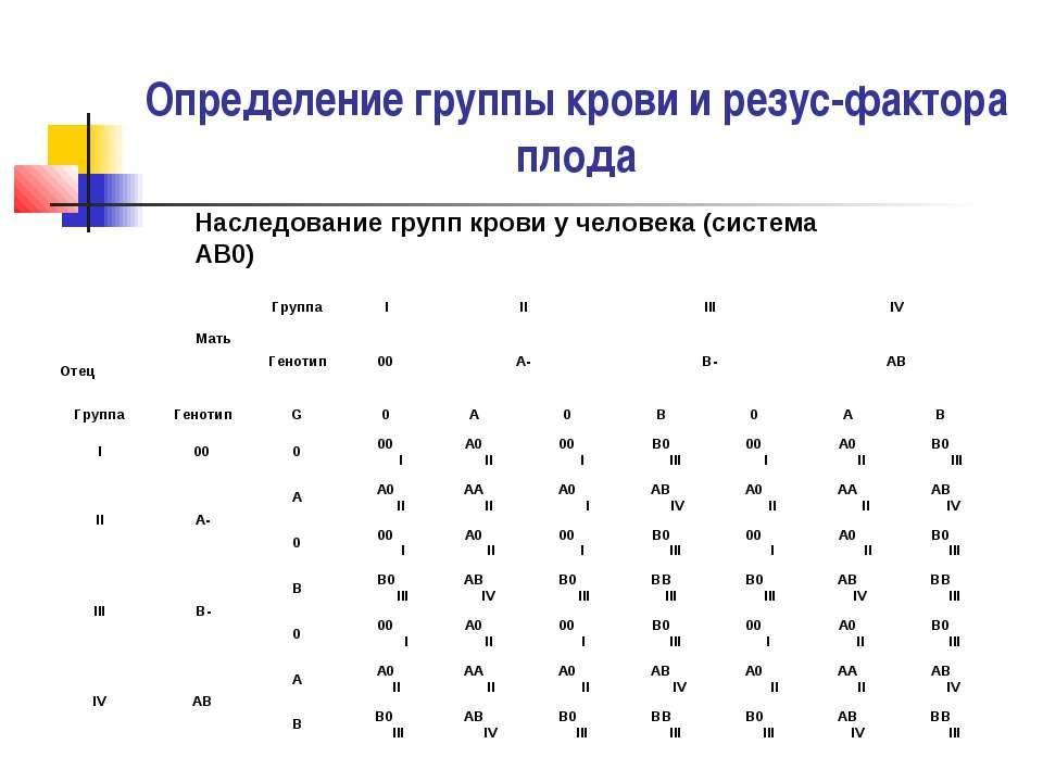 Анализ крови на резус-фактор: плода, при беременности, как сдавать, положительный и отрицательный