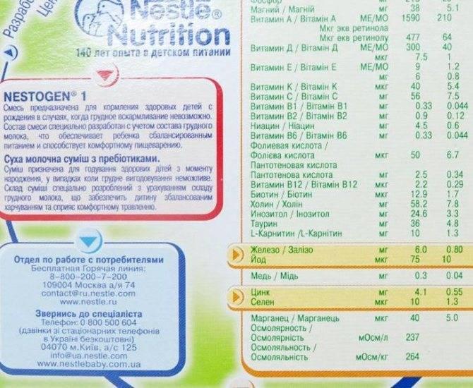 Рейтинг детских смесей. лучшие смеси для детского питания