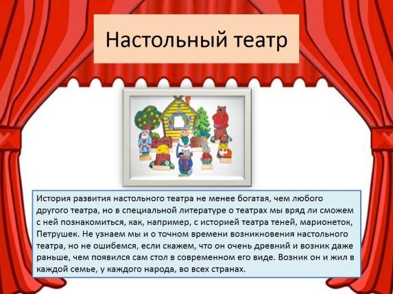 Конспект занятия «что такое театр?». воспитателям детских садов, школьным учителям и педагогам - маам.ру