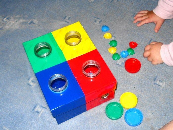 Сенсорные коробки для детей | расти умным!