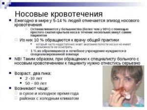 Самые распространённые причины: кровь из носа у ребенка