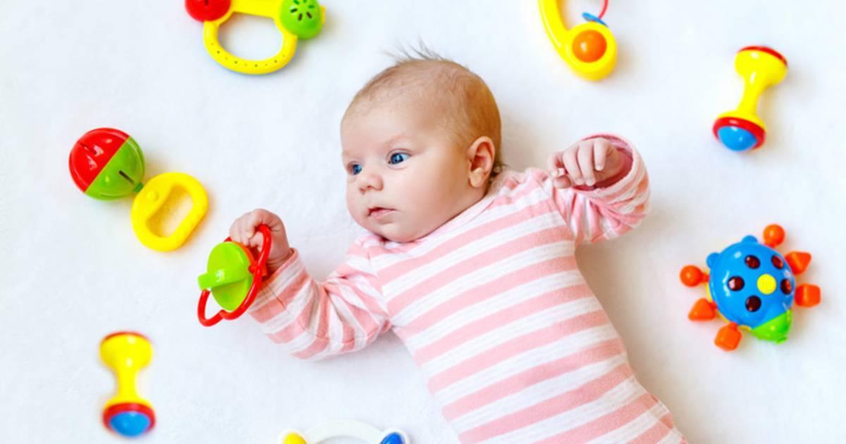 Все о погремушках для новорожденных