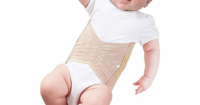 Бандаж пупочный грыжевой детский: тонкости использования