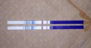 Слабая (бледная) вторая полоска теста на беременность