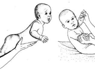 Учим ребенка переворачиваться с живота на спину и со спины на живот