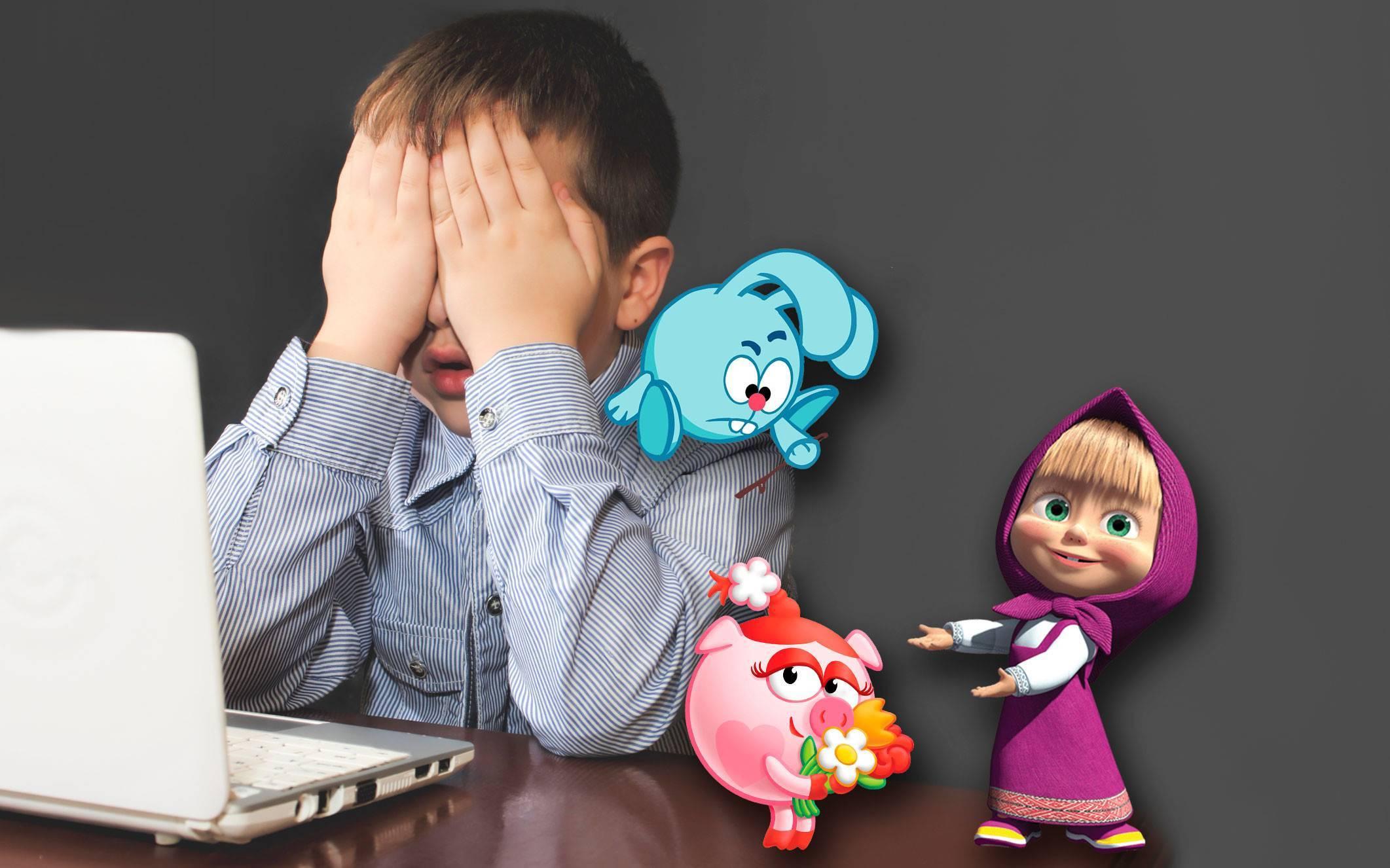 Как влияют мультфильмы на психику детей?