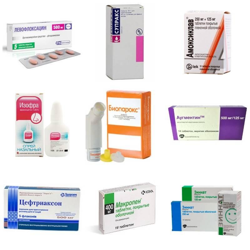 Антибиотики от простуды, гриппа, орви: названия недорогих и эффективных антибиотиков