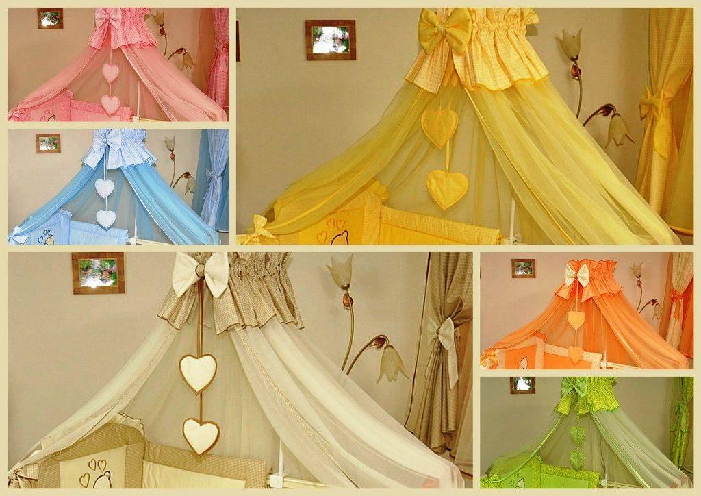 Балдахин на детскую кроватку: полезные рекомендации, выкройка и пошив изделия своими руками