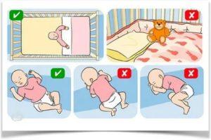 Как правильно выкладывать новорожденного ребенка на живот