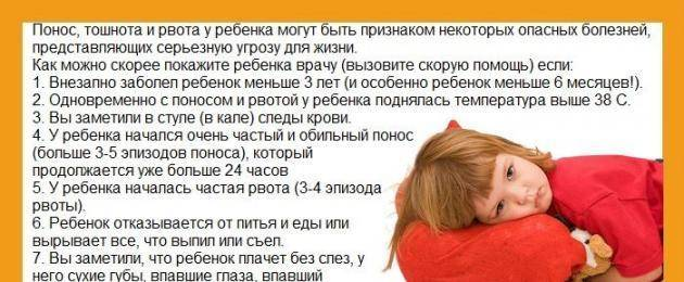 Рвота у ребенка без температуры и поноса / mama66.ru