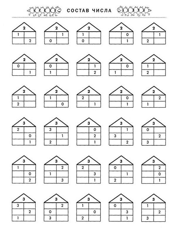 Помогаем детям выучить состав числа до 10: простая методика