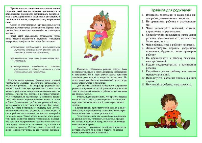 Тревожность у детей: что это, тест филлипса, коррекция личностной тревожности   азбука здоровья