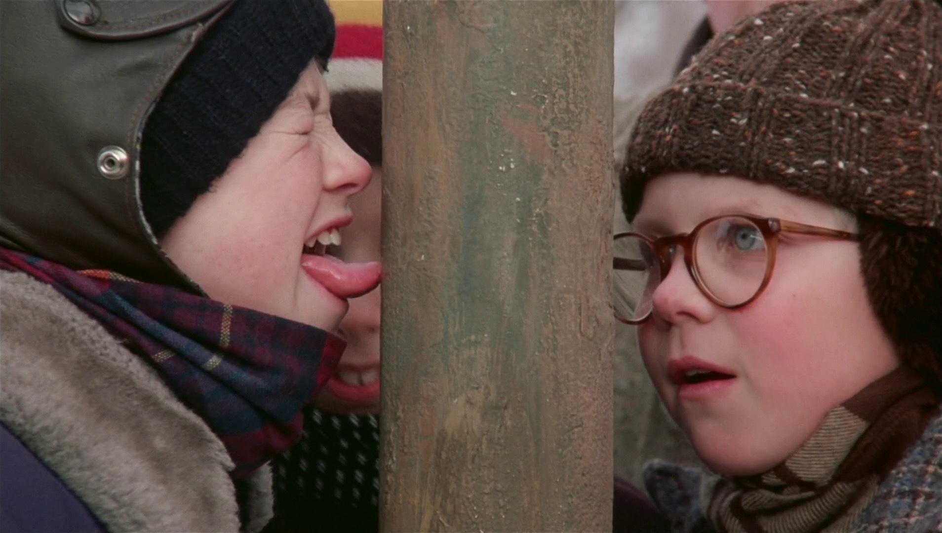 Что делать если язык прилип к железу на морозе