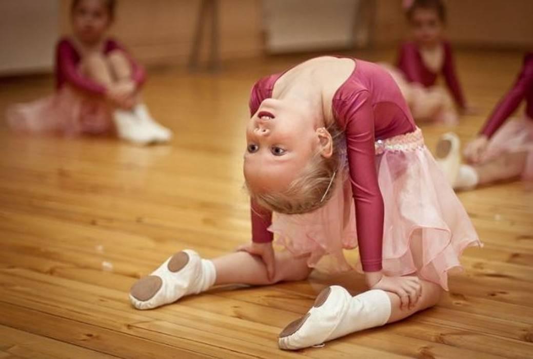 Когда отдать ребенка на танцы - растишка