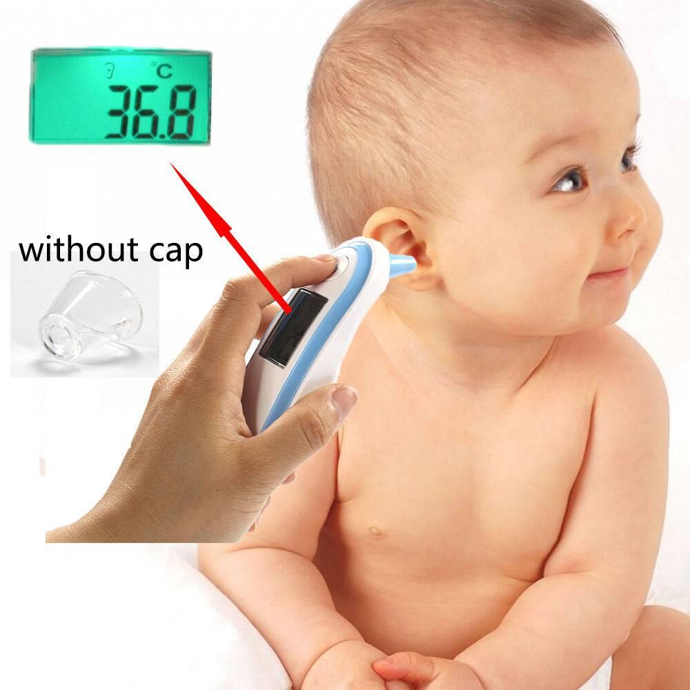Как измерить температуру у новорожденного электронным термометром?