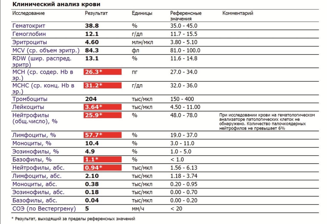 Повышенные тромбоциты в крови у ребенка: причины высокого уровня тромбоцитов