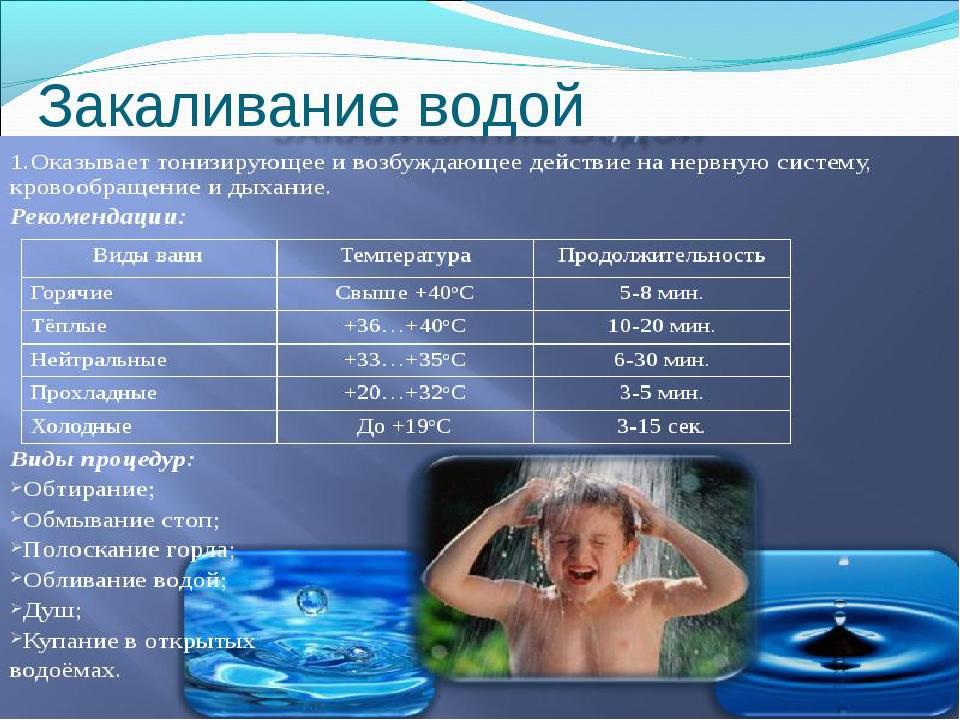 Закаливание новорожденных (грудных) детей: правила и способы закаливания - я здоров