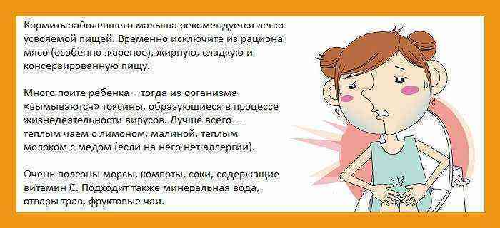 У ребенка понос без температуры и рвоты - причины и лечение
