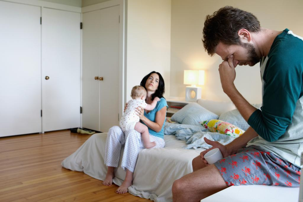 Отношения в браке после рождения ребенка