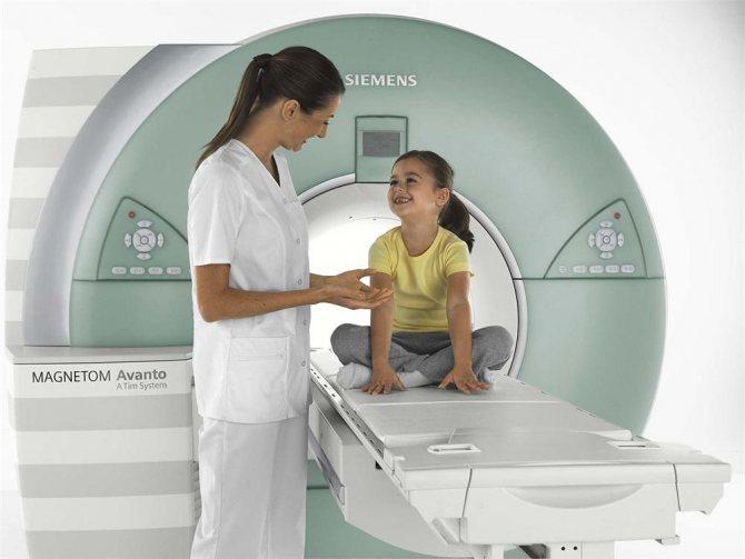 Мрт головного мозга ребенку: особенности диагностической процедуры