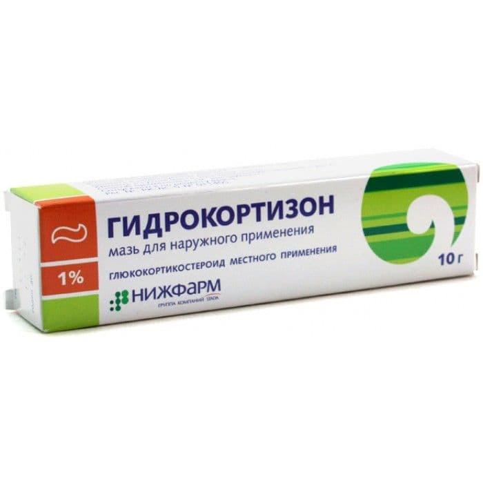 Гидрокортизон мазь: гормональное средство против аллергии, применение в косметологии