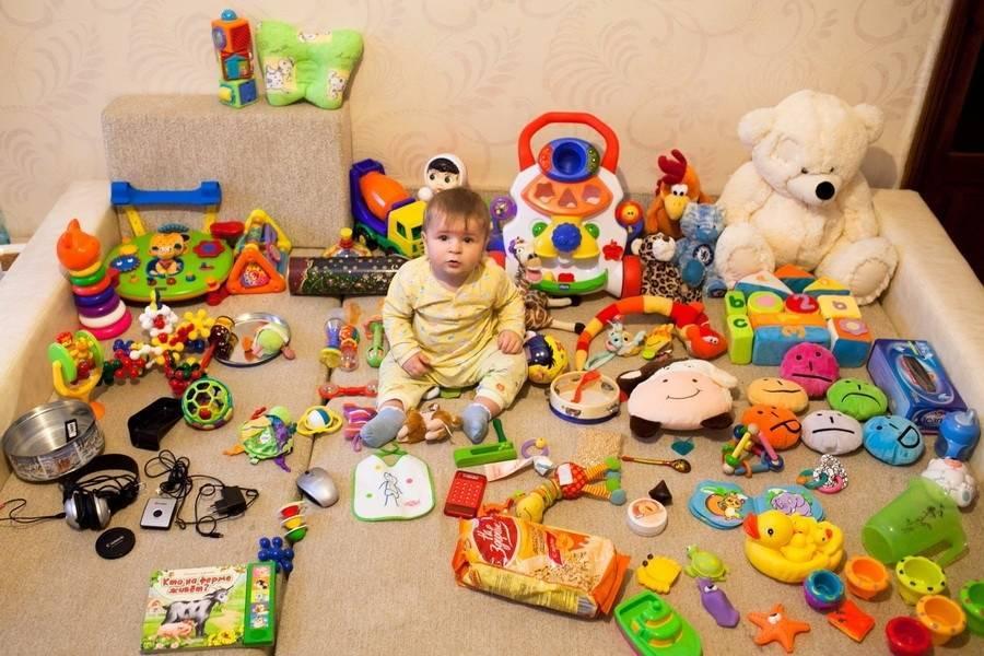 Сколько игрушек нужно ребенку - советы психологов