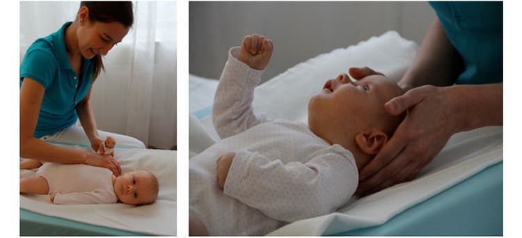 Решаем проблему: кривошея у новорожденного