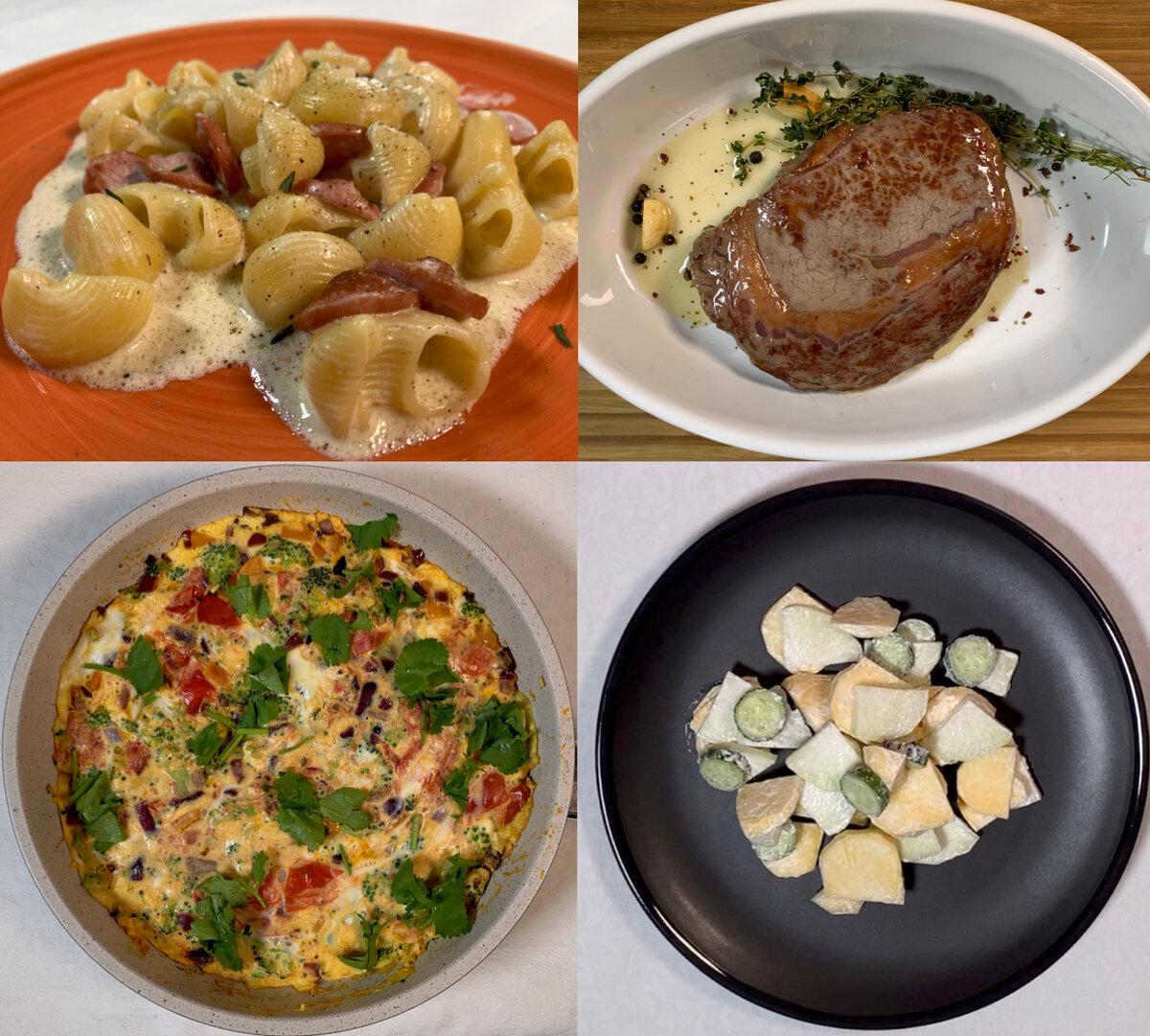 Как приготовить вкусный ужин на скорую руку: 8 простых рецептов