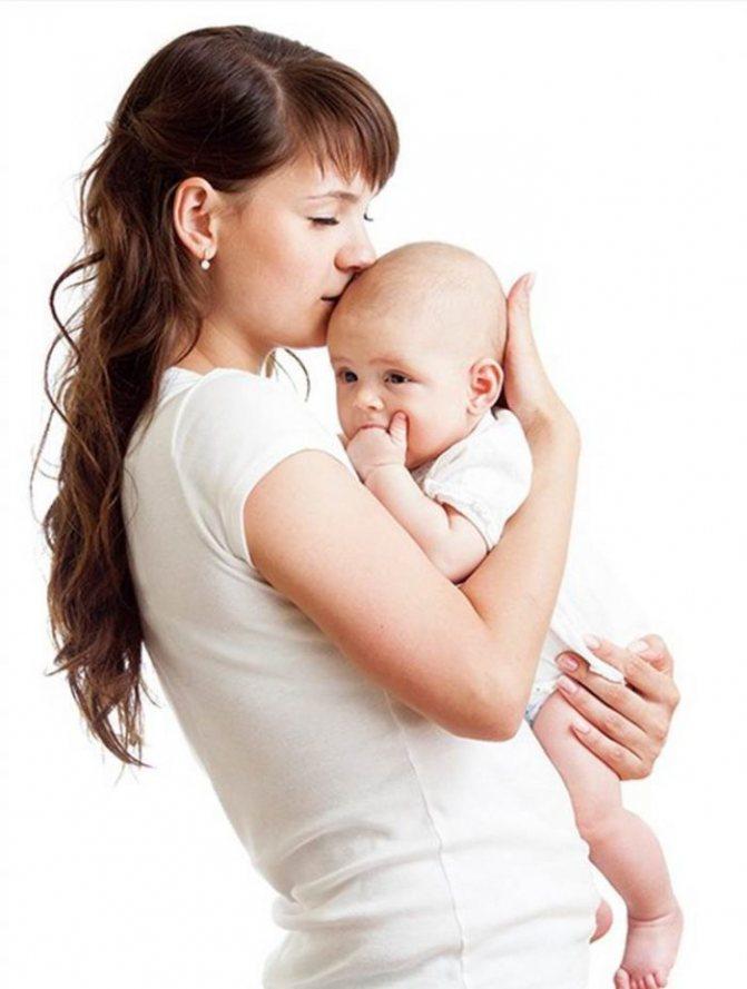 Для чего держать ребенка столбиком сразу после кормления?