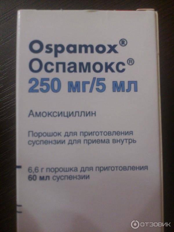 """""""оспамокс 1000 мг"""": инструкция по применению, отзывы"""