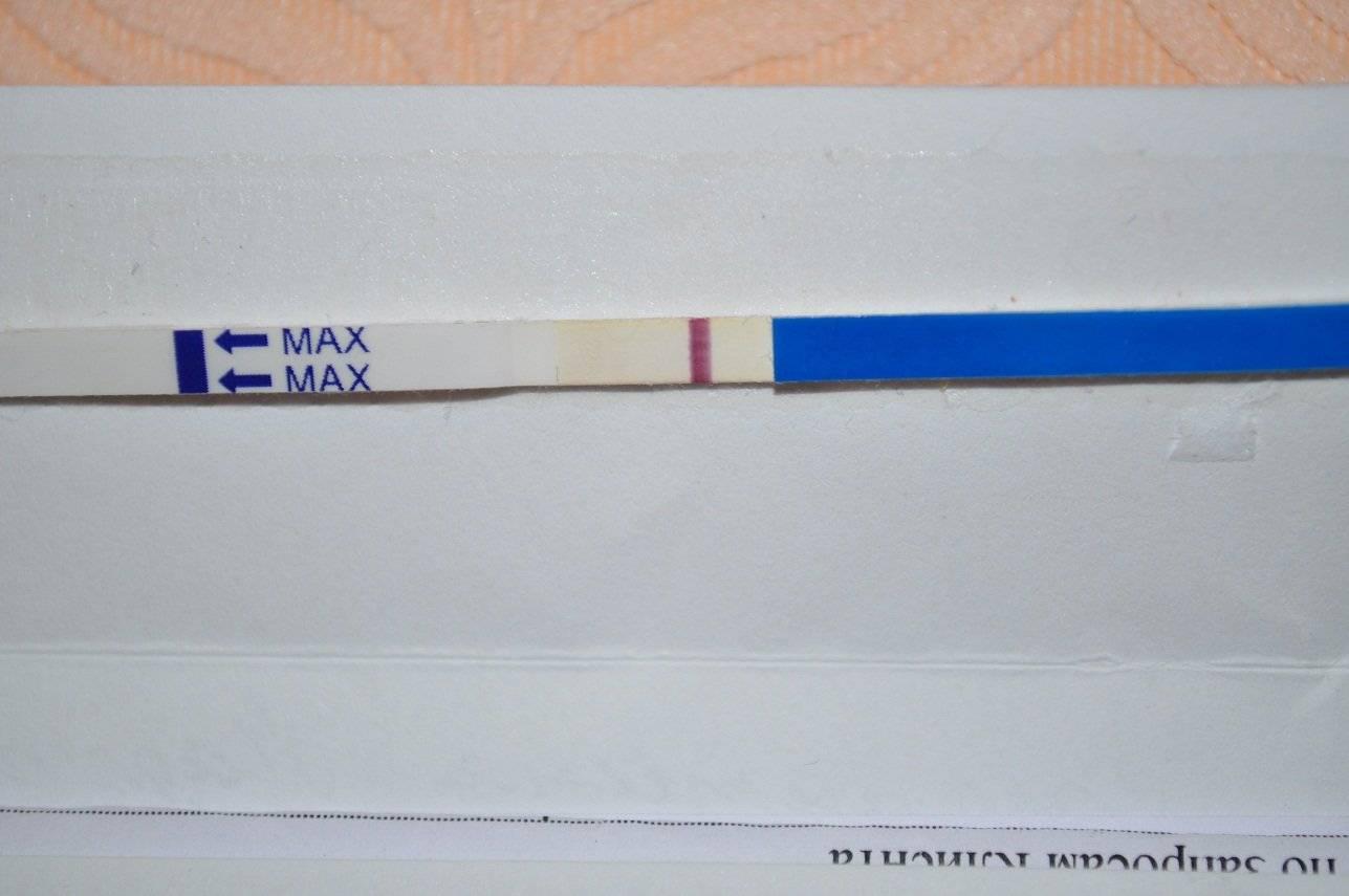 Что означает вторая бледная полоска на тесте на беременность?
