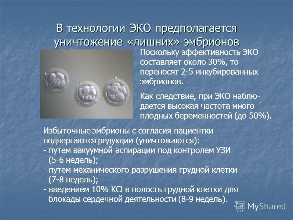 Предимплантационная  генетическая  диагностика эмбрионов.