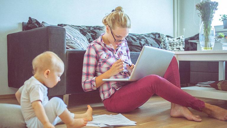 Заработок для мамы в декрете – это реальность, или как жить чуточку лучше