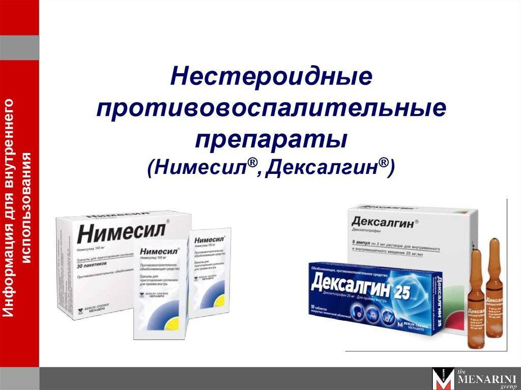 Нестероидные противовоспалительные препараты для лечения суставов: мази, гели, таблетки, уколы