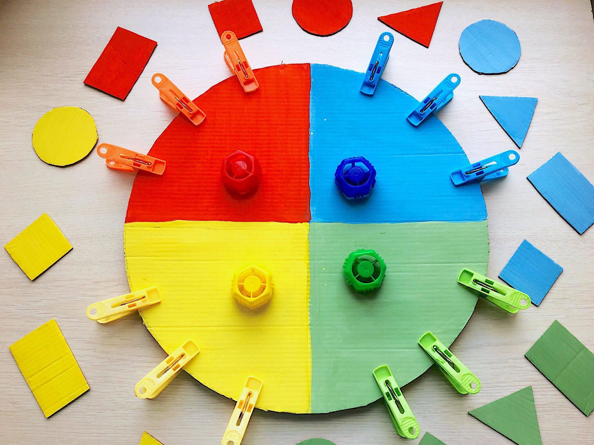 Аппликация и поделки с детьми 1-2 лет (с шаблонами) – жили-были