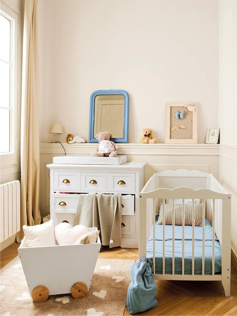 Комната для новорожденного мальчика, девочки, мебель, цвета
