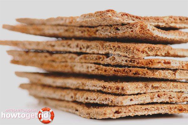 Сухари из черного хлеба при грудном вскармливании - мамины новости