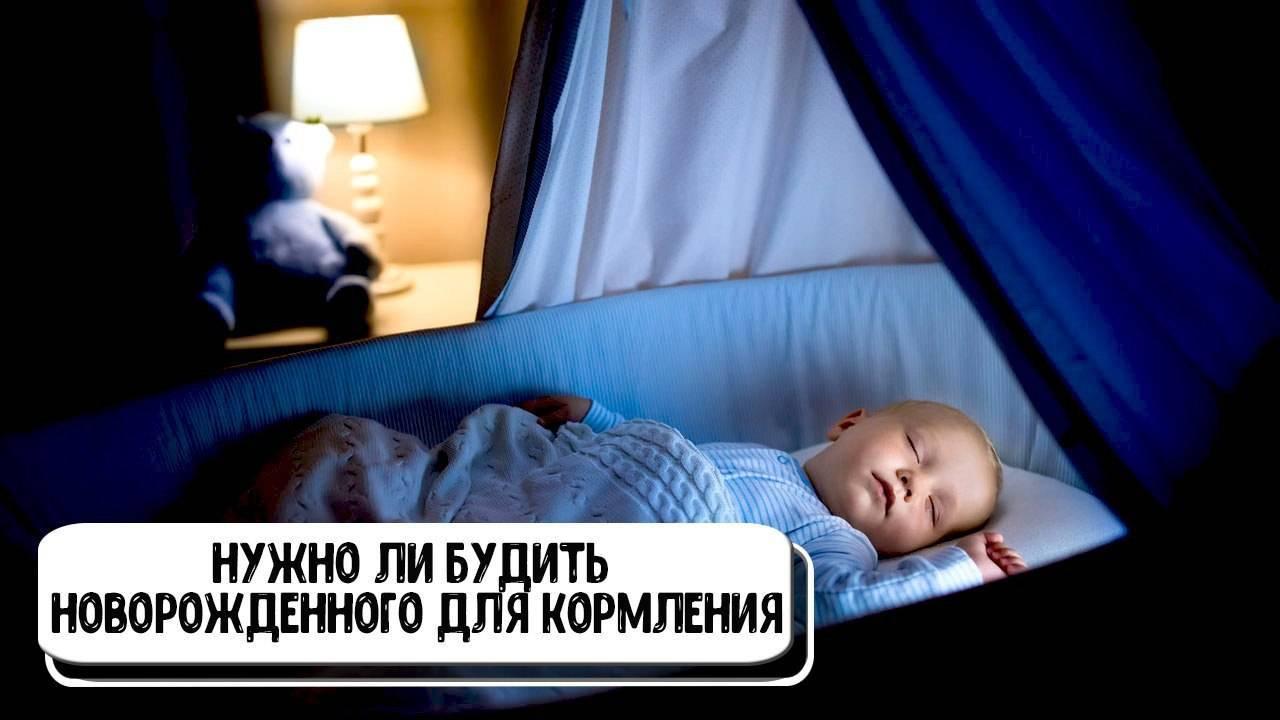Кормление ночью: нужно ли будить грудного ребёнка